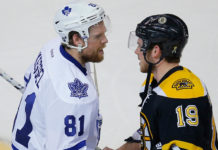 Phil Kessel and Tyler Seguin Shake Hands