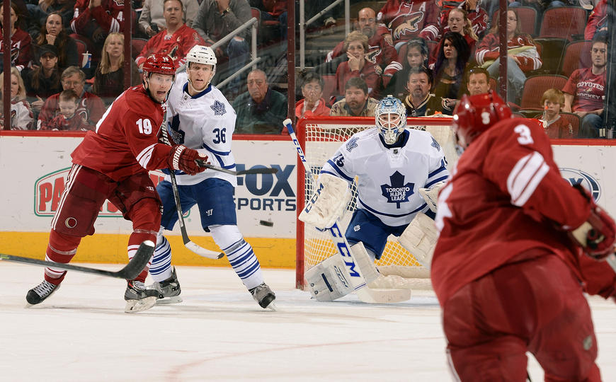 Leafs Coyotes
