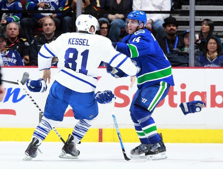 Phil Kessel Fighting