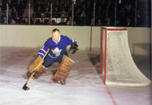Johnny Bower of the Toronto Maple Leafs passes away at age 92