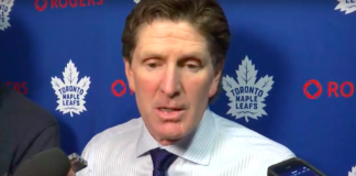 Toronto Maple Leafs' Mike Babcock