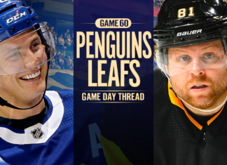 Toronto Maple Leafs vs. Pittsburgh Penguins