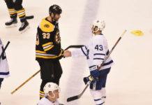 series over toronto maple leafs boston bruins