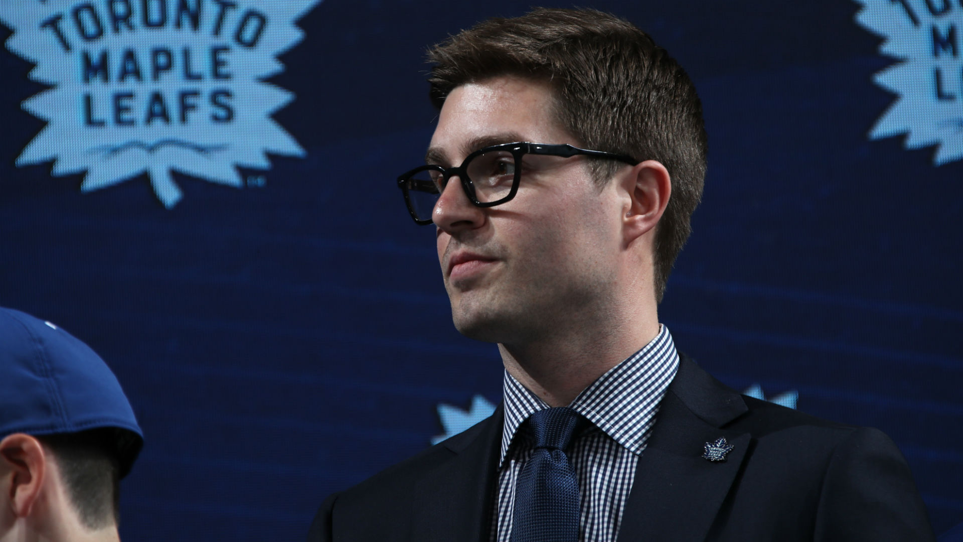 Kyle Dubas of the Toronto Maple Leafs