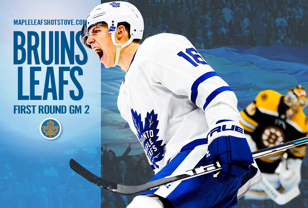 Toronto Maple Leafs vs. Boston Bruins, Game 2