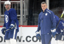 Toronto Maple Leafs' Sheldon Keefe