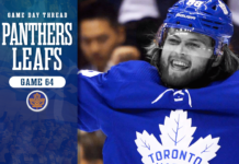 Toronto Maple Leafs vs. Florida Panthers