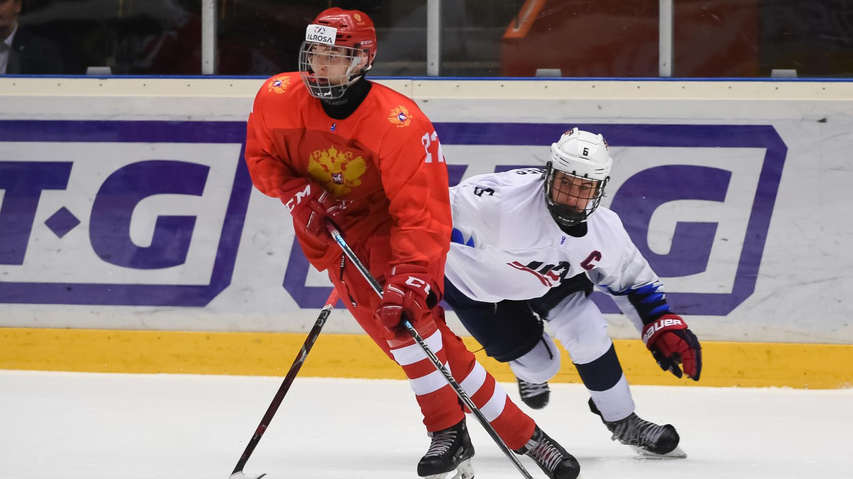 Rodio Amirov, Toronto Maple Leafs 15th overall draft selection