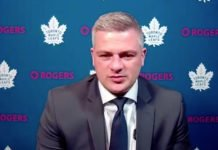 Sheldon Keefe, Toronto Maple Leafs