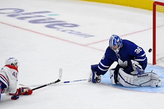 Toronto Maple Leafs vs. Montreal Canadiens, game 1