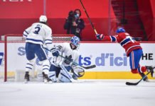 Leafs lose Game 6, Montreal Canadiens